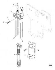 Схема Водослив Воздушный коллектор и воздушный насос