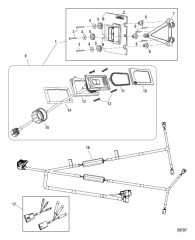 Комплект системы управления дифферентом Active Trim Сдвоенный двигатель – MerCruiser