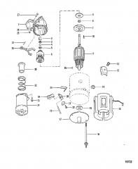 Схема Маслосборник и масляный насос (460)