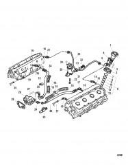 Схема Инжекторный нагнетательный и топливный насос