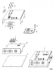 Схема Electrical Components Vessel Interface Panel (VIP) (48 Pin)
