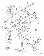 Закрытая система охлаждения (18390A2/ A3 / A4 / A5)