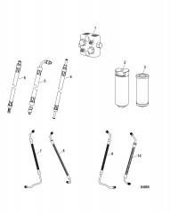Блоки соединителя и гидравлические шланги