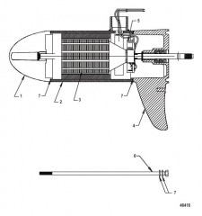 Схема Lower Unit Assembly (SW55 - Variable)(8M0096748)
