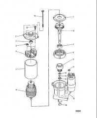 Схема СТАРТЕР  DELCO REMY №9000762