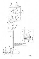 Двигатель для тралового лова в сборе (Модель 667) (24 В)