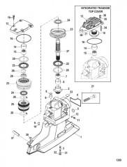 Корпус ведущего вала и ведущие шестерни (Привод XR/XZ)