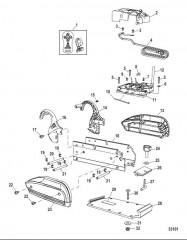 Электрические и крепежные компоненты (Brute 50/70, беспроводной)