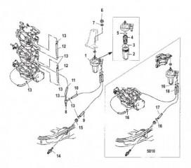 Схема Топливопровод