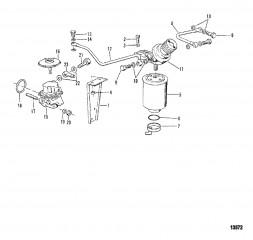 Схема Топливный фильтр