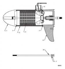 Схема Lower Unit Assembly (FW55 - Variable)(8M0096746)