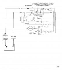 Схема электрических подключений (Модель 752V) (12 В)