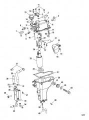 Схема Паросепаратор (USA-1B036613/BEL-0P340241 и ниже)