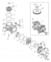 Компоненты воздушного компрессора С/н 1B885131 и ниже