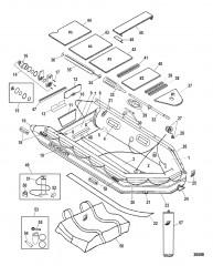 Схема Модель Sport XS 430 (Светло-серый – алюминиевый настил)
