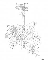 Схема КРОНШТЕЙНЫ (M-007185/ML-308700/E-101515/EL-404000 и ниже)