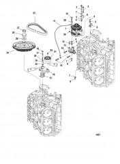 Схема Маховик/генератор