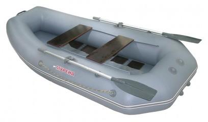 Надувная ПВХ лодка Мурена 270 (Реечный настил)