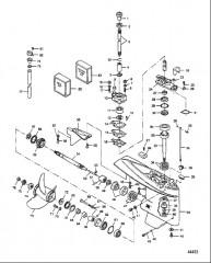 Схема Картер редуктора