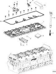 Головка цилиндра Крышка опорной плиты