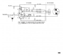 Схема электрических подключений (Модель 580V) (24 В)