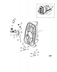 Транцевая плита Наружный носовой и карданная передача