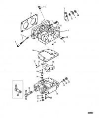Схема КАРБЮРАТОР (WMH-12A/12B/13/13B/14A/15/16)