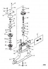 DRIVESHAFT HOUSING AND DRIVE GEARS