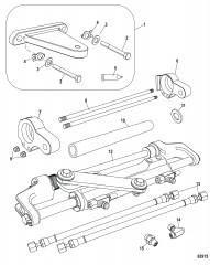 Комплект цилиндра рулевого управления(стандартный) Понтон