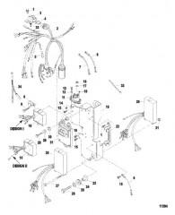 Схема Электрические компоненты (Зажигание)