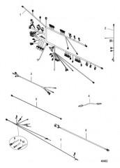 Схема Электрические компоненты (Электропроводка)