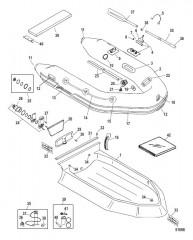 Схема Надувные лодки Dynamic из хайпалона 250-310 (2012 и позднее)