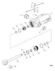 Компоненты цилиндра системы дифферента