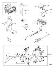 Жгут проводов, подъемные кронштейны и Mercathode