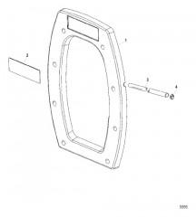 Схема Внутренняя транцевая плита Сухой поддон Six