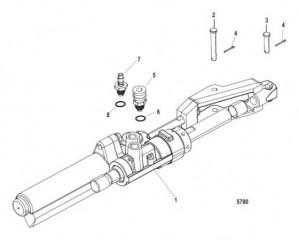 Схема Привод рулевого механизма с усилителем