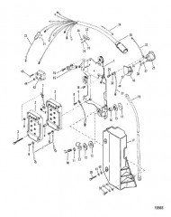Электропроводка/электромагнит стартера