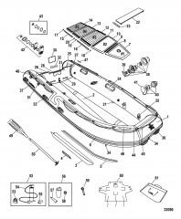 Модели Trimax (Алюминиевый настил, 380 / 430)