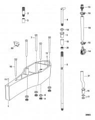 Комплект проставок Коробка передач