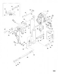 Схема Кронштейн фиксатора