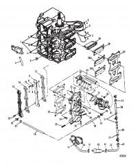 Пластина и система рециркуляции 0E009500-0E065371