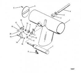 Комплект клапанов глушителей