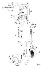 Двигатель для тралового лова в сборе (TR82FB / TR82FBD) (24 В)