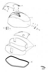 Схема Top Cowl