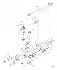 Цилиндр рулевого механизма в сборе (898349A05)