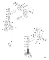 Схема Монтаж трансмиссии и двигателя
