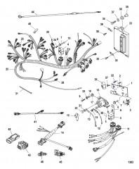 Схема Электрическая панель в сборе