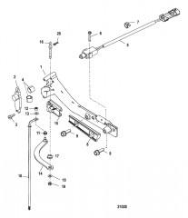Тяга механизма переключения передач