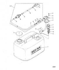 Схема ТОПЛИВНЫЙ БАК (S-675-00450/L-32875 И НИЖЕ)