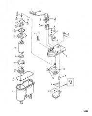 Схема Бак паросепаратора